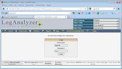 Instalar LogAnalyzer para consulta vía web de los log de Rsyslog