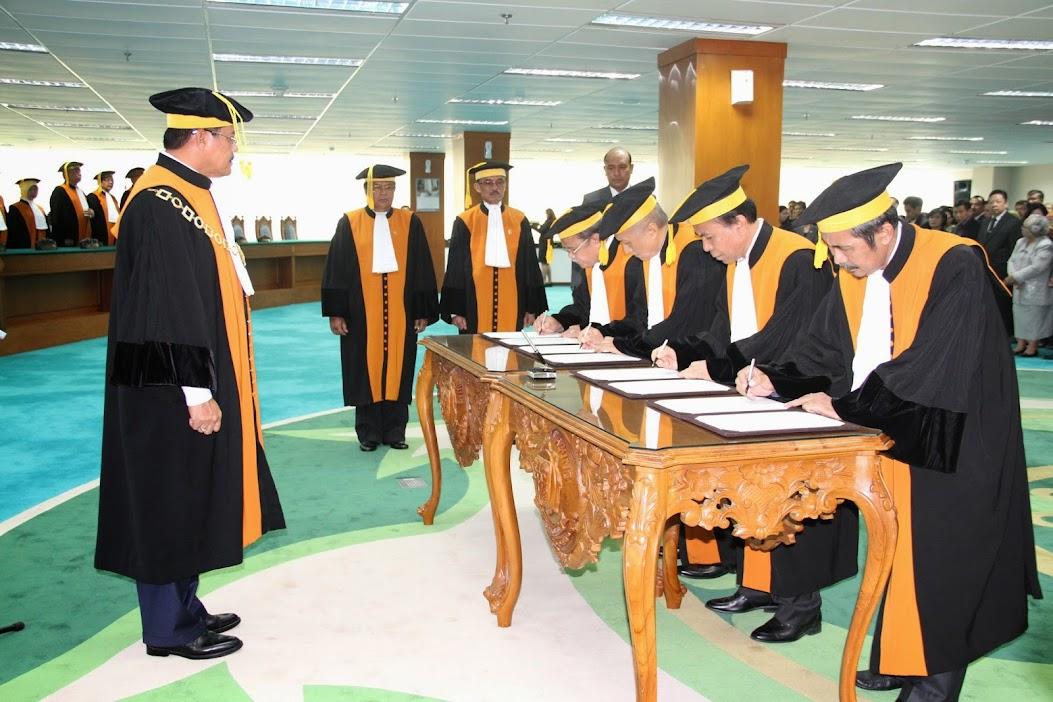 Akhirnya, Purwosusilo dan Amran Suadi Jadi Hakim Agung