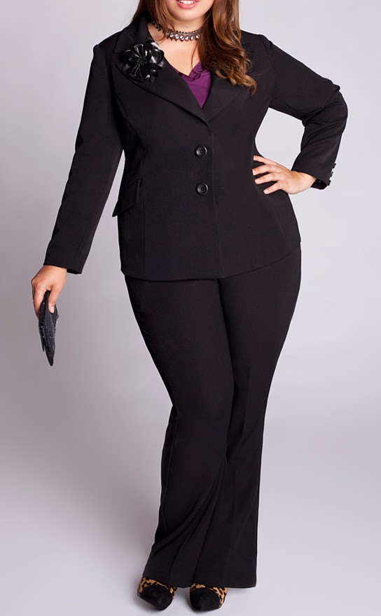 Over Size Custom Made Ladies Suit