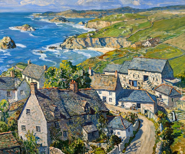 Walter Elmer Schofield - Trenwith-Cornish Farm, c. 1933