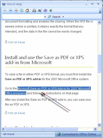 How to Create PDF Documents in Microsoft Office