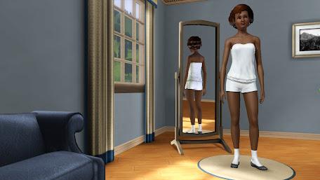 """Коллекция женской одежды """"Симочка в белом"""""""