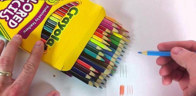 Sản phẩm Crayola 24 Colored Pencils Preferred by Teachers được làm từ nguyên liệu có sẵn trong thiên nhiên nên tuyệt đối an toàn