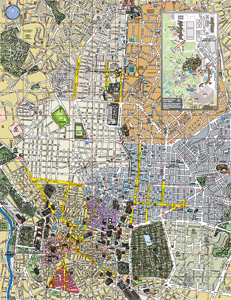 Nuevo plano tur stico de madrid editado por la comunidad for Oficina de turismo de la comunidad de madrid