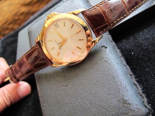 Bán đồng hồ patek philippe – calatrava – vàng hồng 18k – 3kim 1 lịch – model 5107R