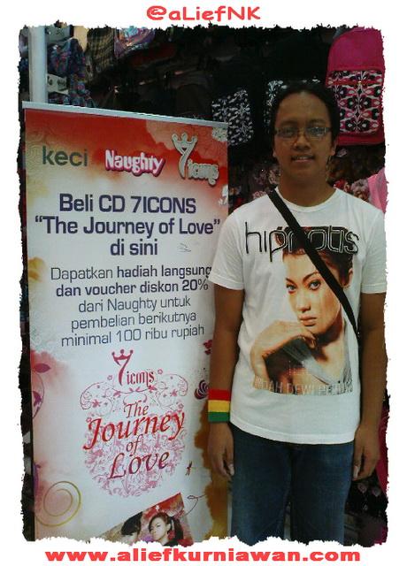 Alief Nartama Kurniawan @ Naughty Acc Matos Malang [image by @aLiefNK]
