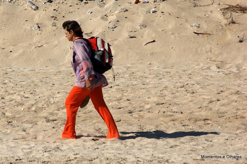Gente na Praia