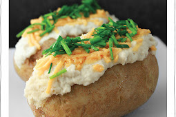Chive Baked Potato