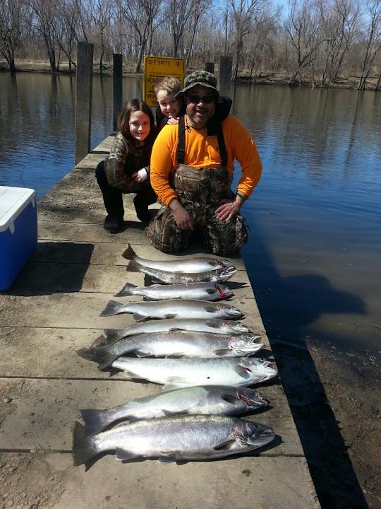 Michigan Steelhead Fishing Charters