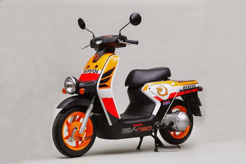 Honda Scoopy Modifikasi Retro