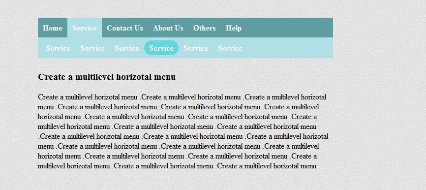 vertical menu example in css and html using lists in essays