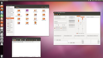 Ubuntu 11.10 - ambiance theme
