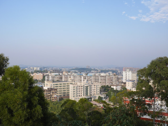 view of apartment buildings