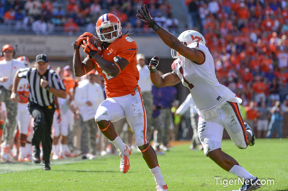 Clemson vs. Virginia Tech Photos - 2012, Football, Sammy Watkins, Virginia Tech