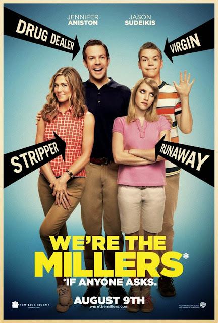 Οικογένεια Μίλερ We're The Millers Poster