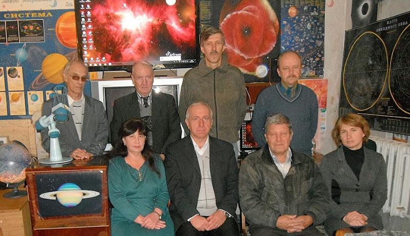 Співробітники кафедри астрономії