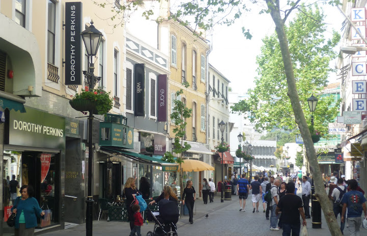 Gibraltar High Street