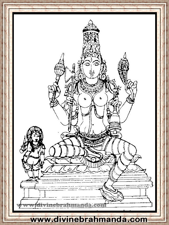 Soundarya Lahari Sloka, Yantra & Goddess For Getting a Strong Body - 10