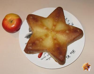 Gâteau pomme-coco rapide - recette indexée dans les Desserts