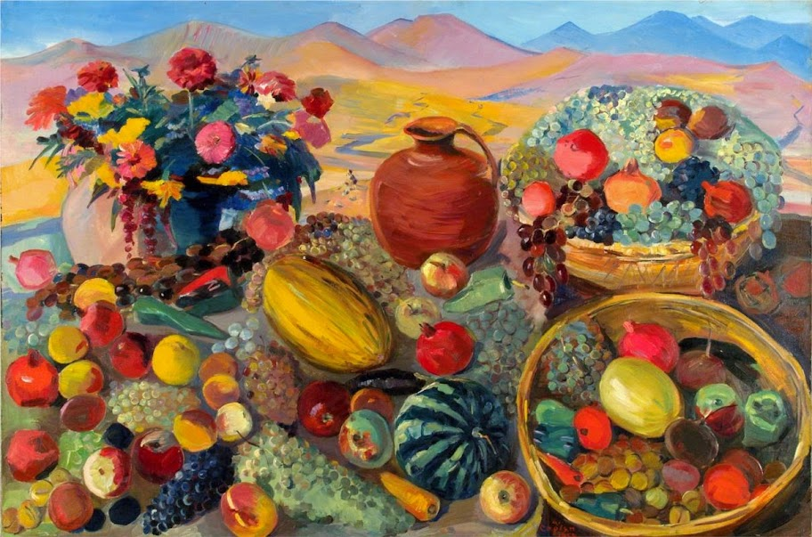 Martiros Saryan - Gifts of Autumn