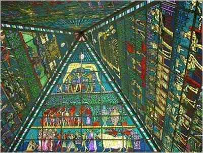 Palais de la Paix et de l'Accord d'Astana - Pyramide Illuminati Dubai+hoy+35