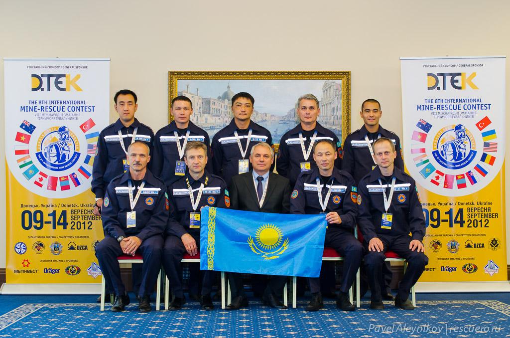 Команда Казахстана Komir
