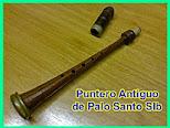 VENDO PUNTERO antiguo de PALO SANTO en
