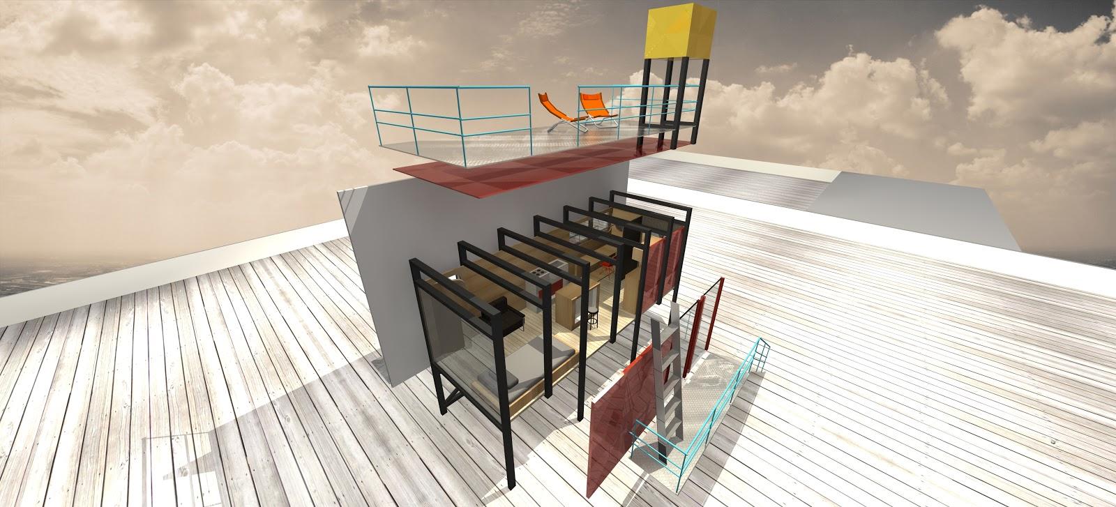 *藝術家 julio gomez trevilla:廣告刊版的房子! 9