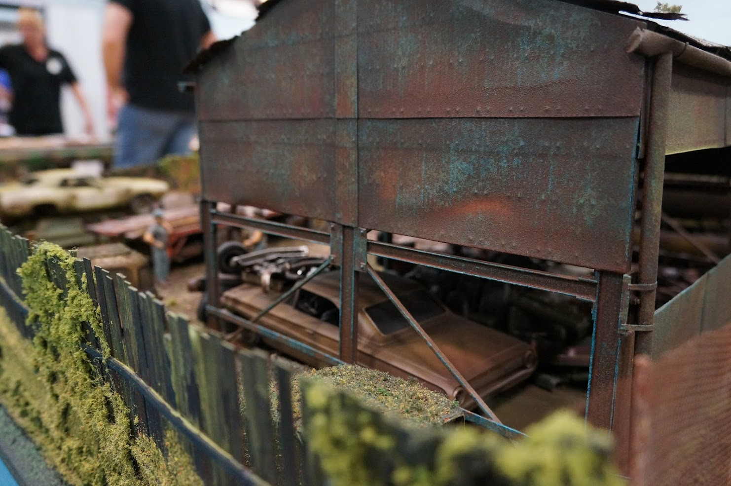 1 24 1 25 Barn Garage Diorama For Sale On Ebay: Interstate Classics, Wrecking Yard 1/25 Scale Model