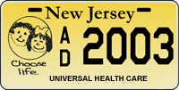 Universal Health Care License Plate