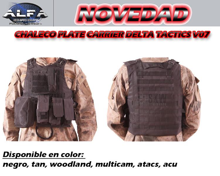 NOVEDADES !! -  www.AlfaPolicial.com CHALECOV07