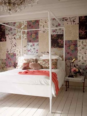 Country Style Chic: Vintage Florals : old fashioned quilted eiderdowns - Adamdwight.com