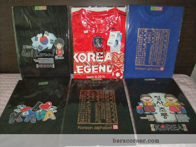 Korean Souvenir T-shirts