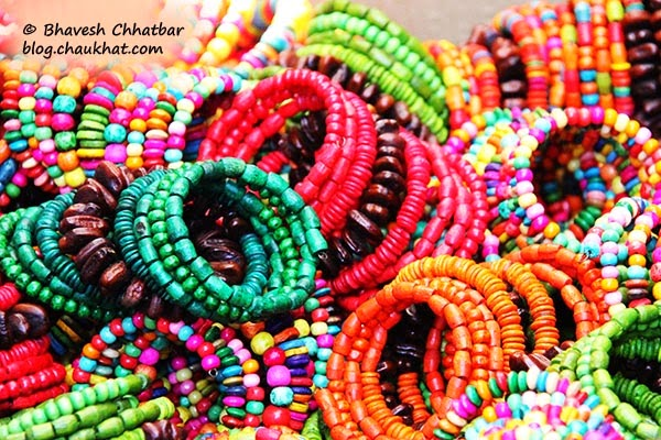 Kala Ghoda - Colorful bead bangles
