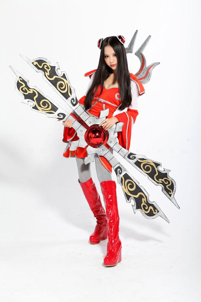 Bộ ảnh cosplay tuyệt đẹp về nữ tướng Irelia