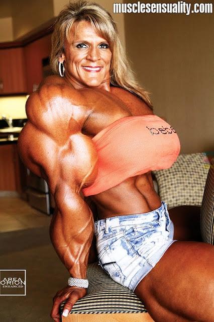 Angela Rayburn muscle morph