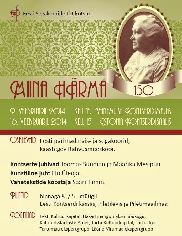 Miina Härma 150