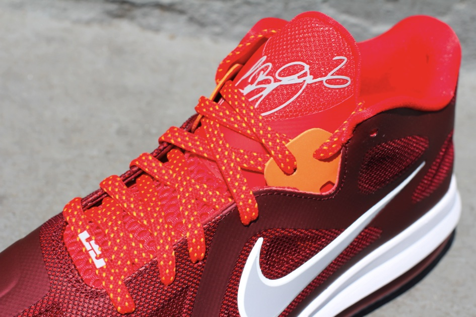 innovative design afea2 20497 Nike LeBron 9 Low 8220Team RedChallenge RedWolf Grey8221 ... 7 Star  Discount Nike Lebron 9 Low Team Red Challenge ...