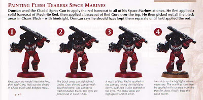 GW Flesh Tearers painting how to