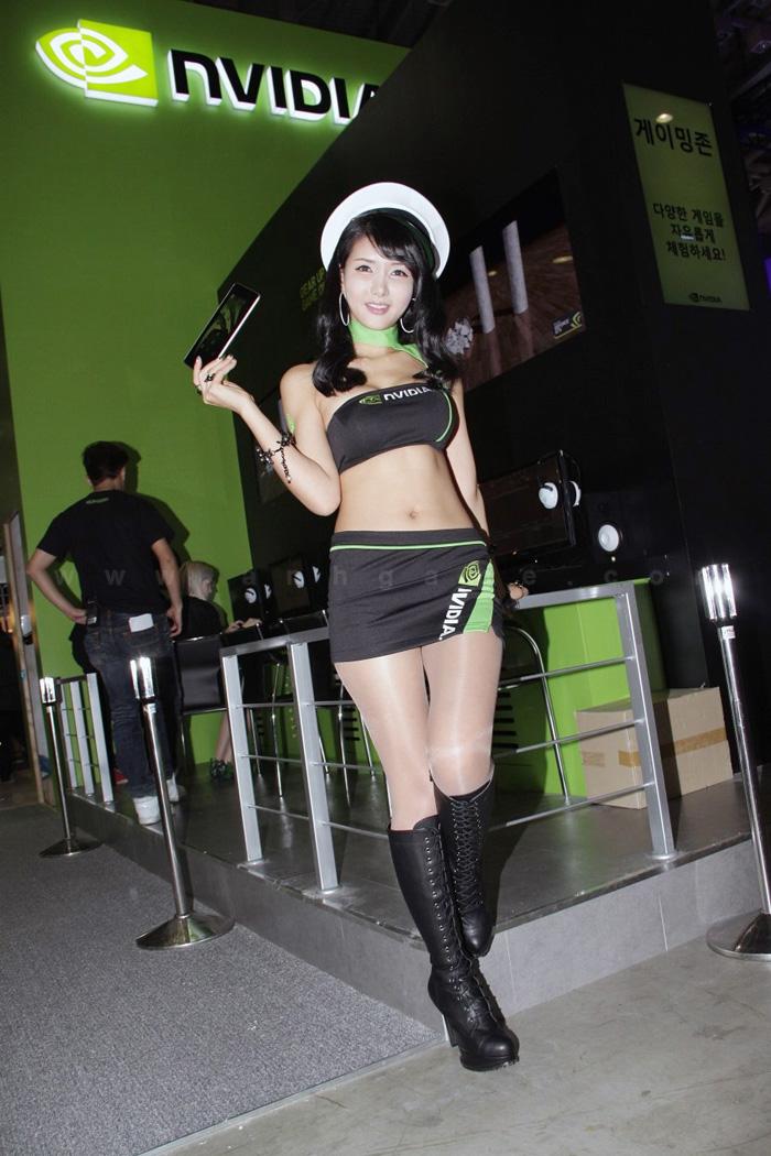 Showgirl G-star 2012: Cha Sun Hwa - Ảnh 22
