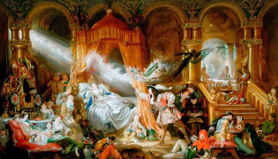 Daniel Maclise - The Sleeping Beauty