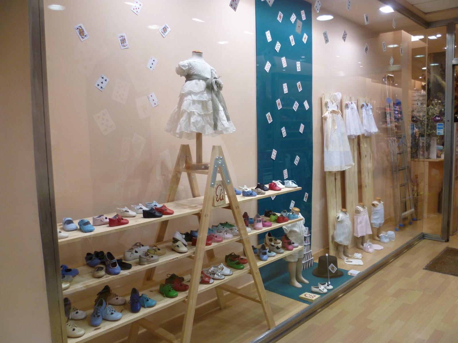 Decoracion Zapateria Infantil ~ Para acentuar esta diferencia entre los tama?os de los zapatos y la