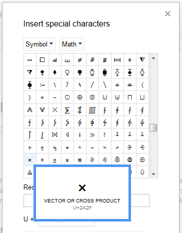 Squares for special characters in Chrome but not Firefox