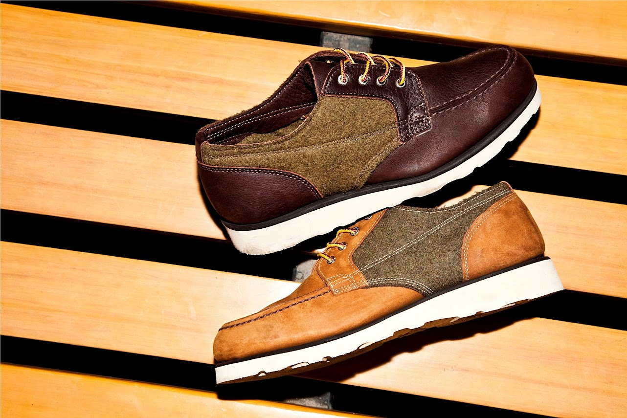 *SEBAGOxWoolrich®:Stockton 皮革百年羊毛混搭紳士鞋履! 8