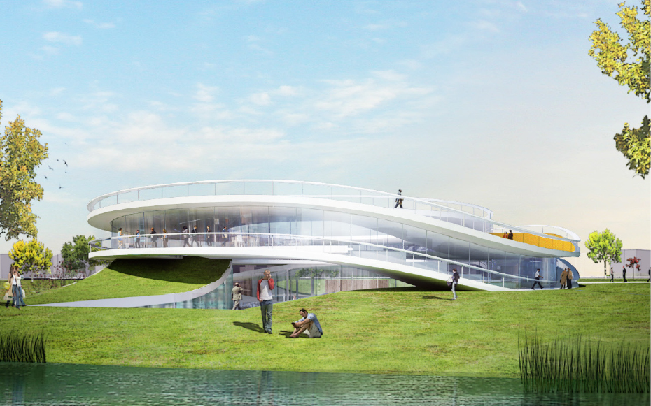 YCC / SHANGHAI COMMUNITY CENTER design by JDS, MUDI