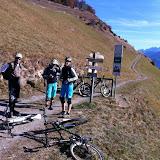 Bike - Mittel-Vinschgauer Trailtour 19.Nov.11