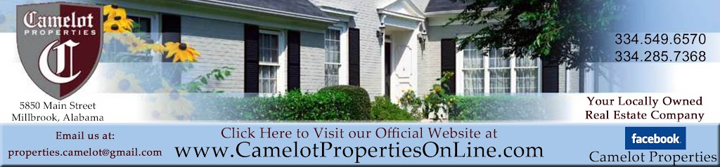 camelot properties in millbrook, alabama
