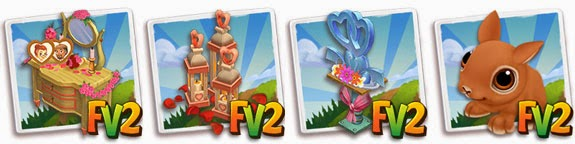 farmville 2 wedding reception table rewards