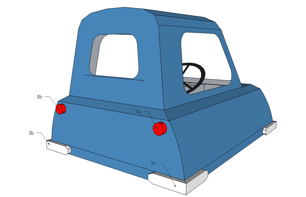 Peel P50 papercraft assembly instuctions