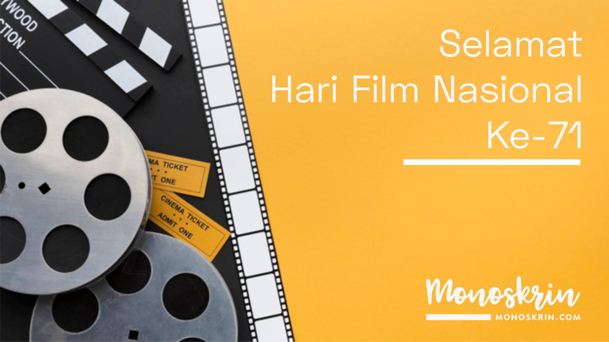 Hari Film Nasional ke-71 dan Usmar Ismail